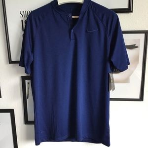 Nike men's dry fit shorts sleeve polo shirt NWT
